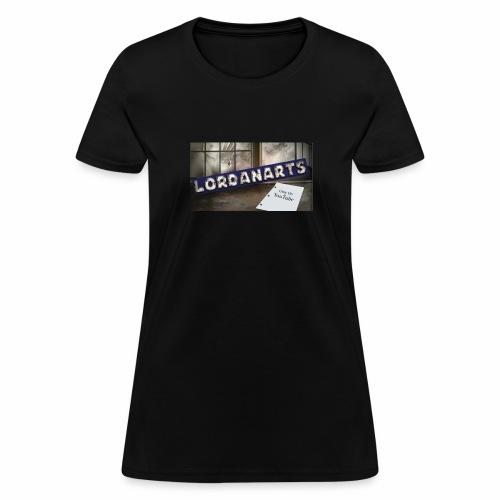 LordanArts Channel Banner - Women's T-Shirt