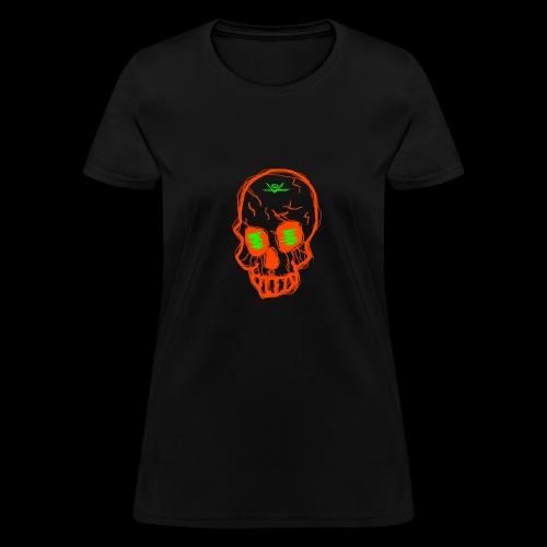 grunge skull - Women's T-Shirt
