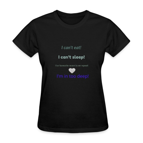Deep love - Women's T-Shirt