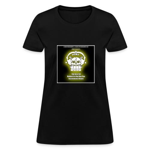 50 Golden Era Beats BeatMonstarrs - Women's T-Shirt
