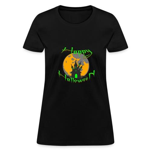 Happy Halloween castle - Women's T-Shirt