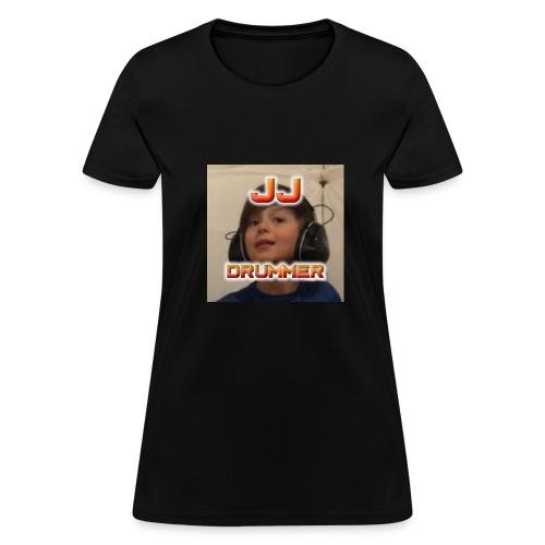 JJ Drummer Merch Clothing - Women's T-Shirt