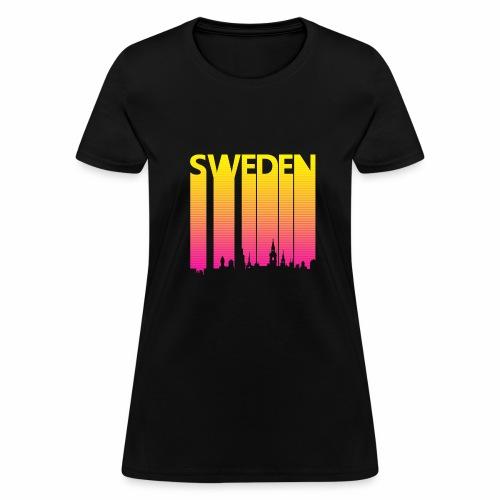 Vintage Retro Sweden - Women's T-Shirt