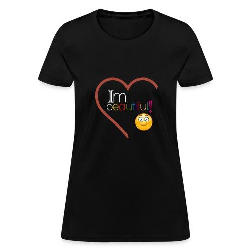 i'm beautiful - Women's T-Shirt