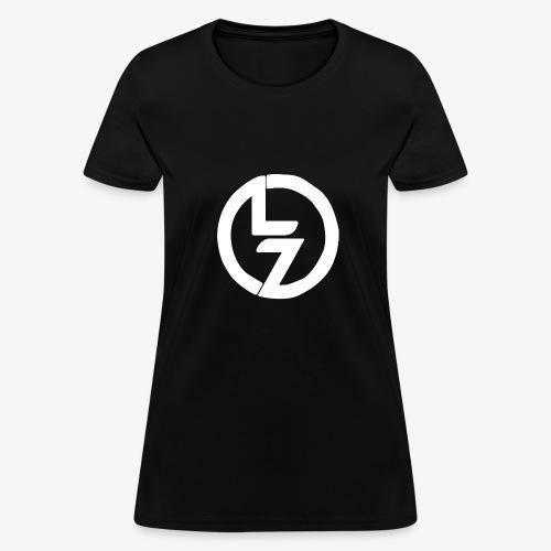 White LZ Logo - Women's T-Shirt