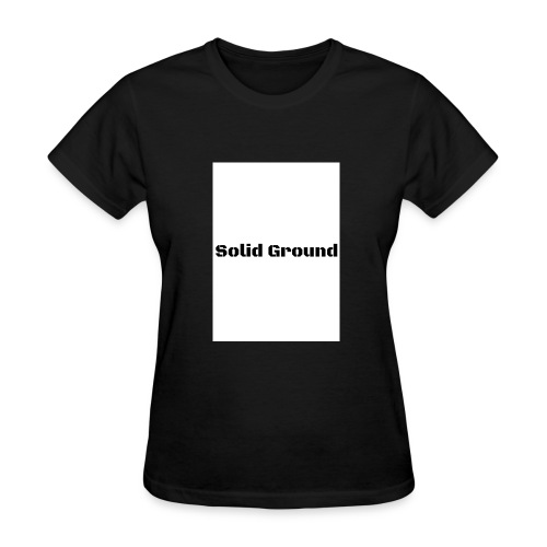 Solid Ground Print - Women's T-Shirt