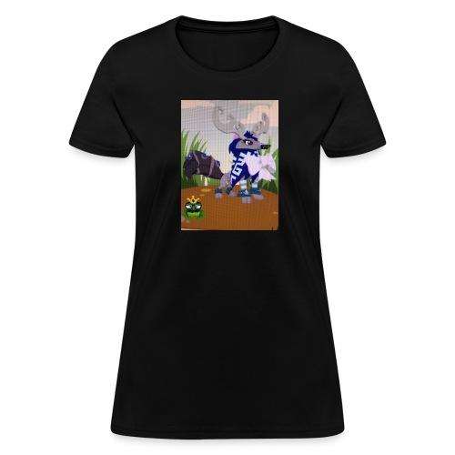 Cute Furry Mag Designs - Women's T-Shirt