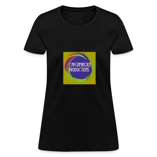 Basic Tee-Shirt. With basic logo - Women's T-Shirt