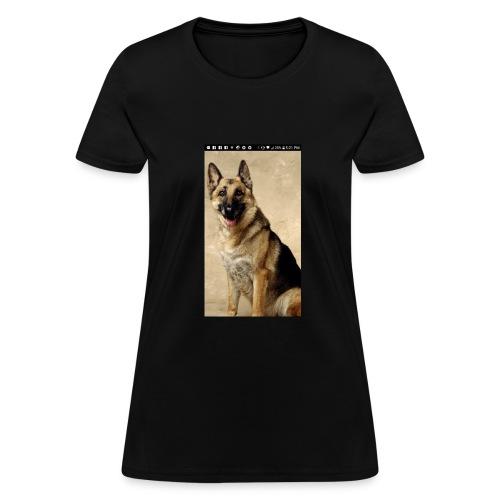 German Shepard - Women's T-Shirt