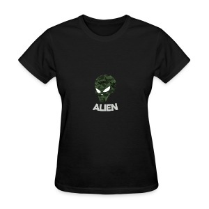 Military Alien - Women's T-Shirt
