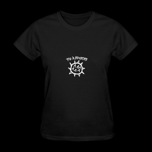 the burdocks logo white - Women's T-Shirt