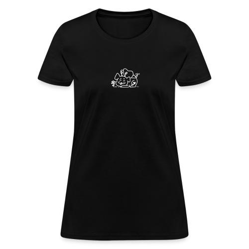 puppymoth - white - Women's T-Shirt