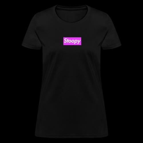 PinkboxStoopy - Women's T-Shirt