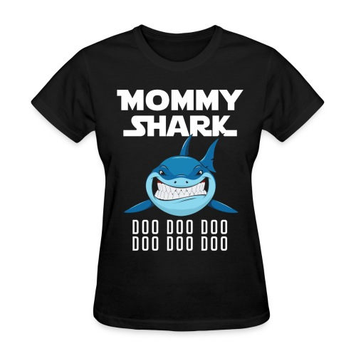 Mommy Shark T-shirt - Women's T-Shirt