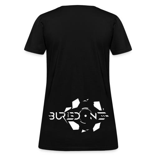BuriedONE Cryptomining Logo White - Women's T-Shirt