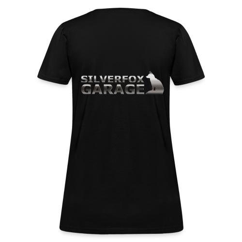 silver fox garage - Women's T-Shirt