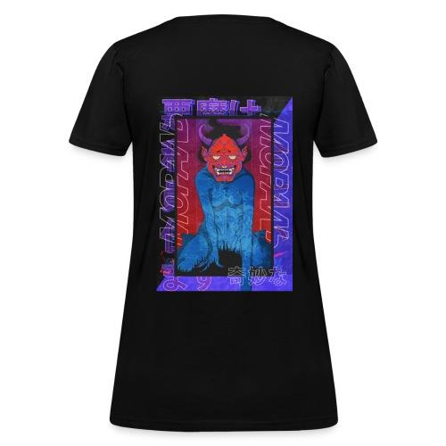 Japanese devil - Women's T-Shirt