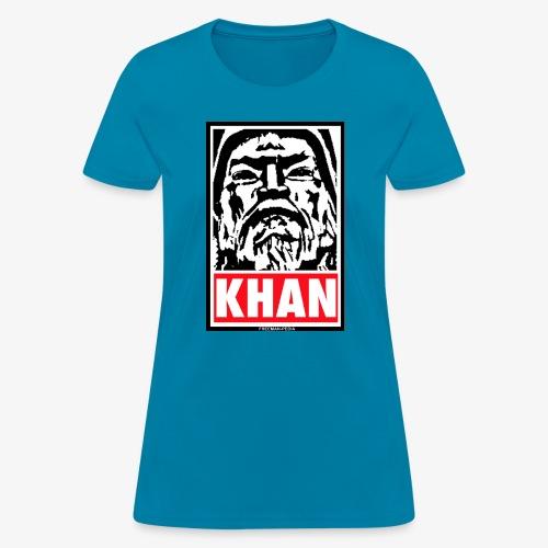 Obedient Khan - Women's T-Shirt
