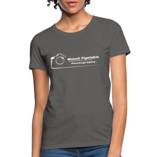 Manoli Figetakis Photography Logo - Women's T-Shirt