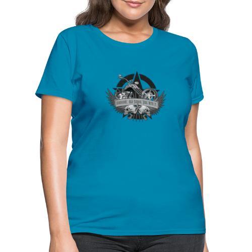 Hardcore. Old School. Deal With It. - Women's T-Shirt