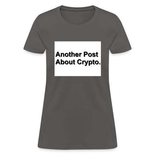 WhiteShirt Crypto - Women's T-Shirt