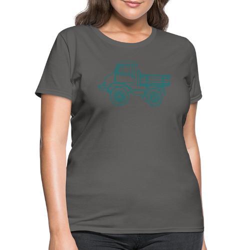 Off-road truck, transporter - Women's T-Shirt