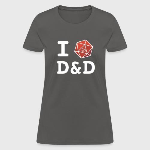 I DICE D&D - Women's T-Shirt