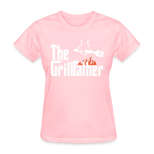 The Grillfather - Women's T-Shirt