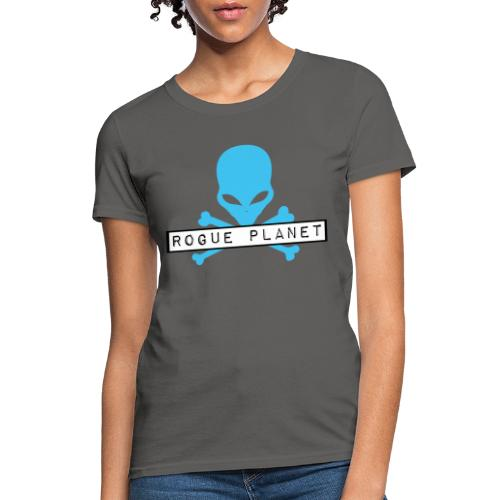 Rogue Planet Alien Skull - Women's T-Shirt