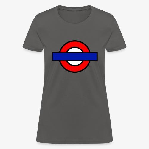 London Underground Coloured - Women's T-Shirt