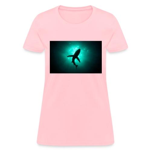 Shark in the abbis - Women's T-Shirt