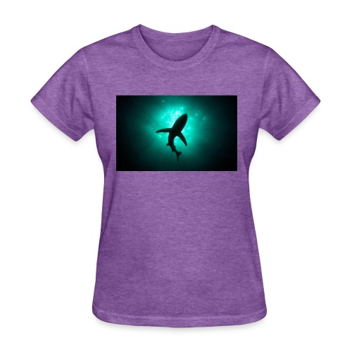 Shark in the abbis - Women's T-Shirt