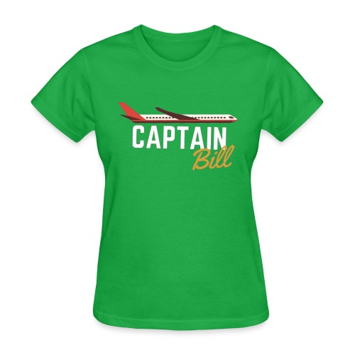Captain Bill Avaition products - Women's T-Shirt