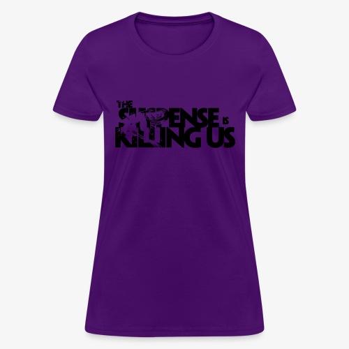 Suspense Is Killing Us Logo Black - Women's T-Shirt