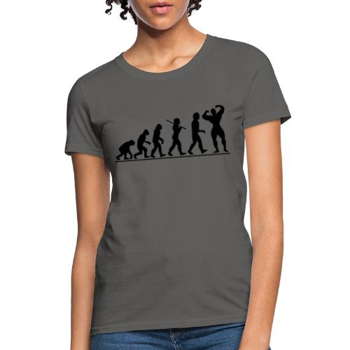 Evolution Gym Motivation - Women's T-Shirt