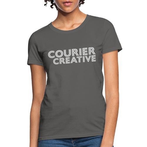Courier Creative Logo - Women's T-Shirt