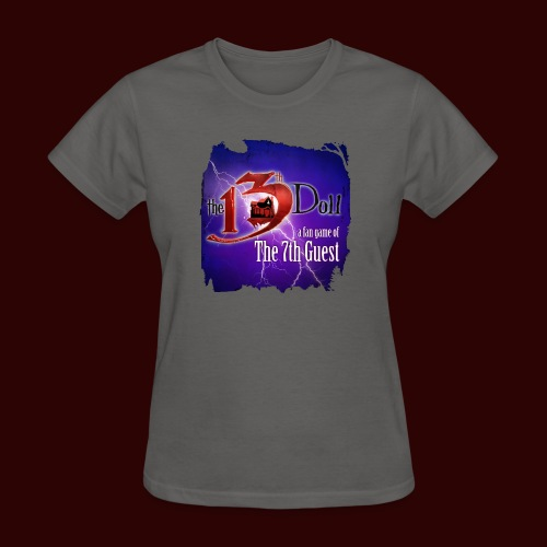 The 13th Doll Logo With Lightning - Women's T-Shirt
