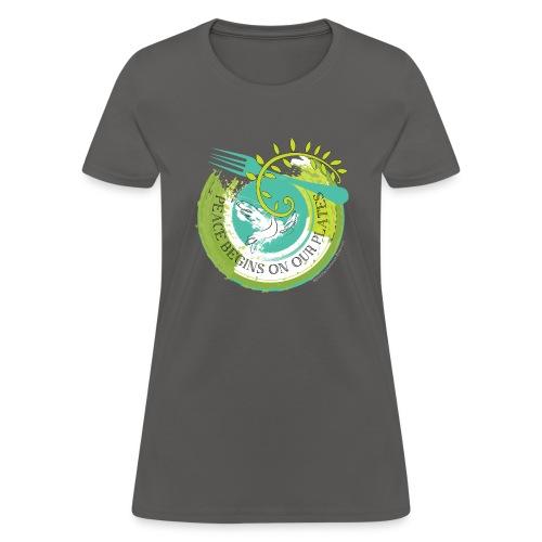 Peace Plate - Women's T-Shirt