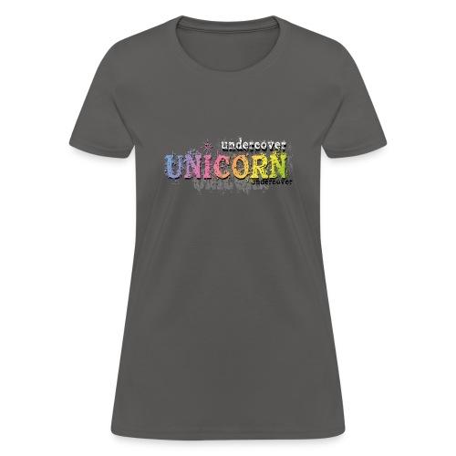 Undercover Unicorn - Women's T-Shirt