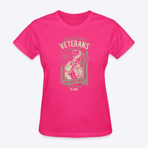 US Army Veterans - Women's T-Shirt