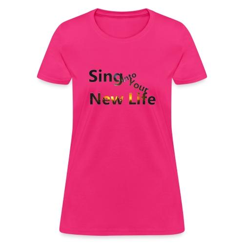 Sing in Brown - Women's T-Shirt