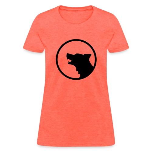 Wolf Silhouette Vector - Women's T-Shirt