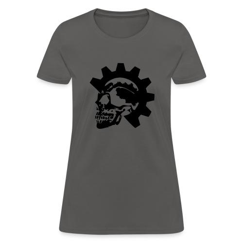 Gearhead Skull - Women's T-Shirt