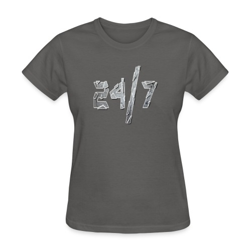 24/7 with ABG - Women's T-Shirt