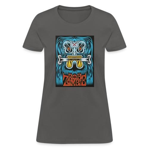 White ZOMBIE limited art print devils rejects - Women's T-Shirt