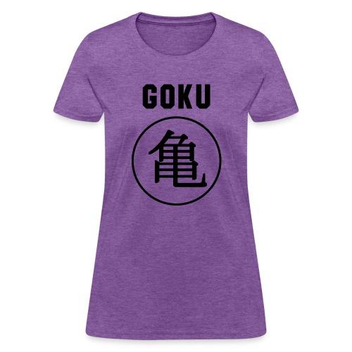 GOKU - TURTLE - Women's T-Shirt