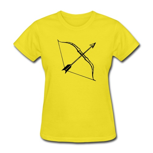 bow and arrow 3 - Women's T-Shirt