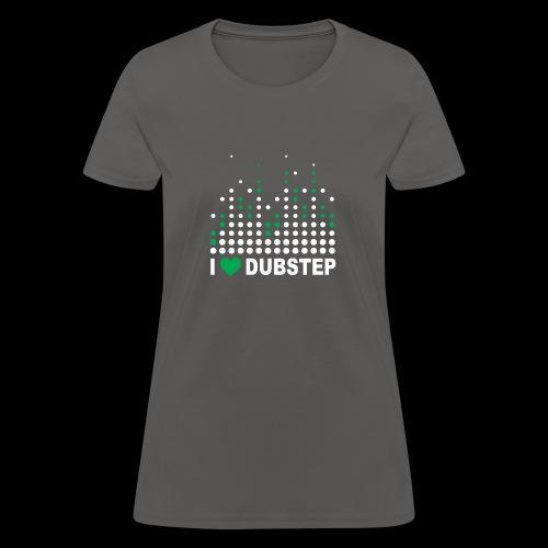 I heart dubstep - Women's T-Shirt