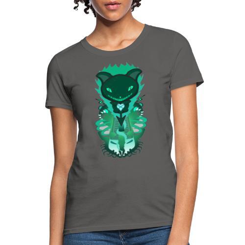 CUTE MONSTER CAT DESIGN SHIRT - Women's T-Shirt