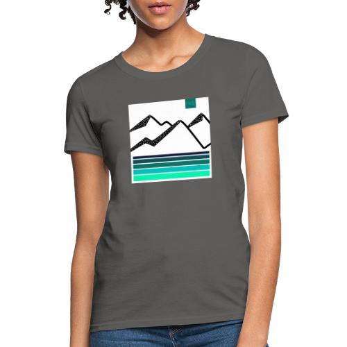Mountain Blues - Women's T-Shirt